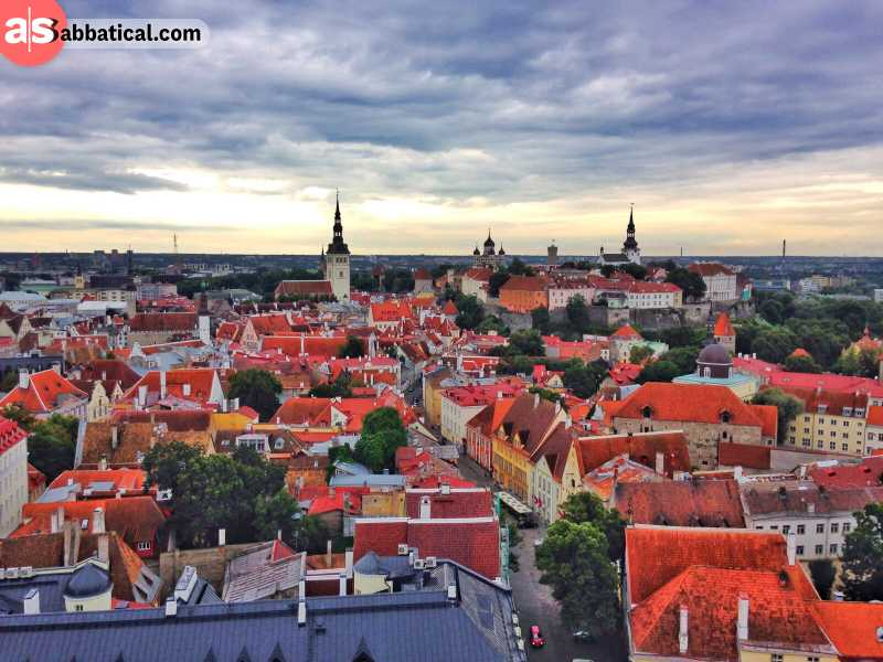 Estonia has so many places to visit!