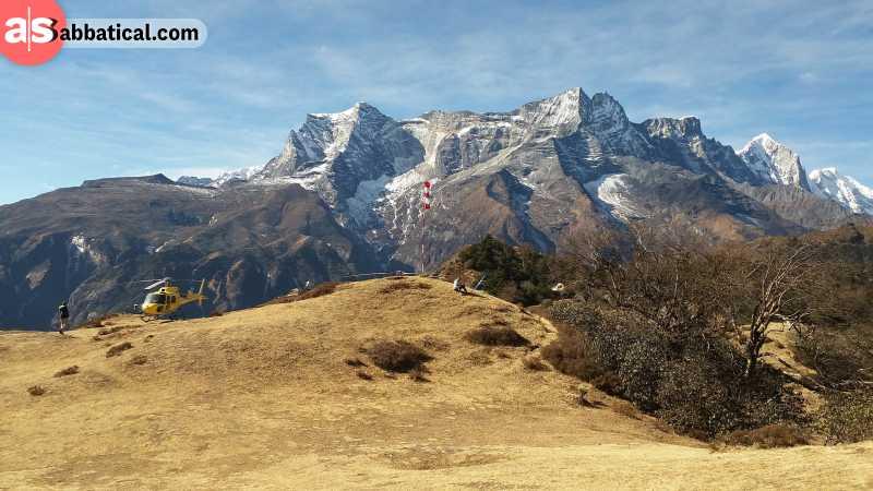 You can arrange a flight to Everest from Kathmandu.