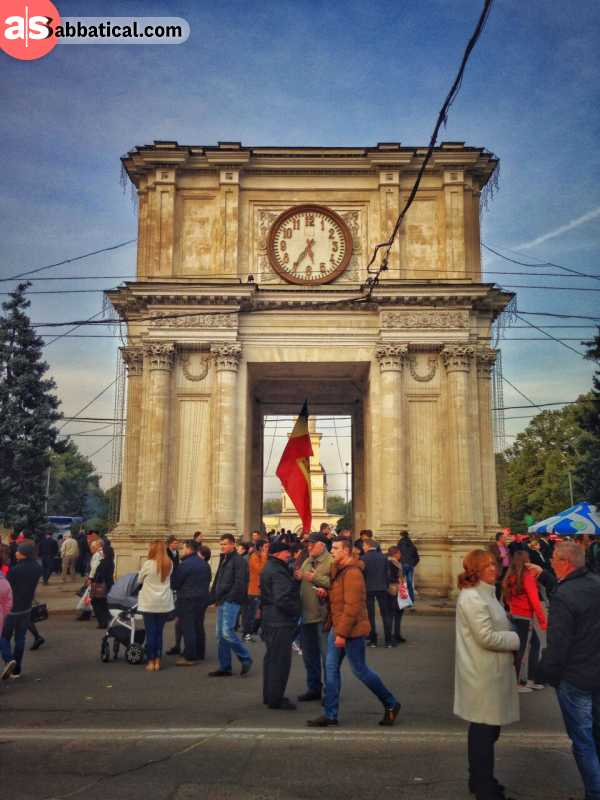Places to visit in Moldova