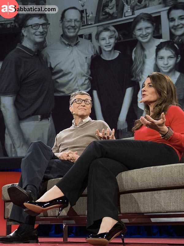 philanthropists: bill and melinda gates