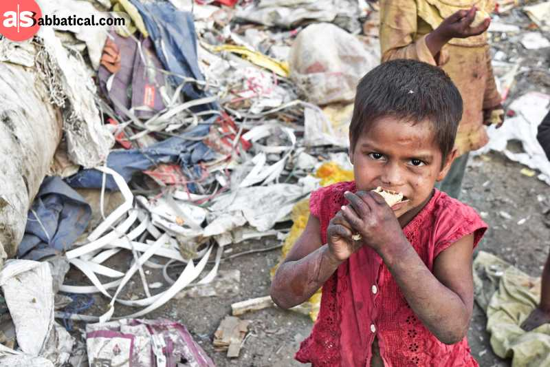 If we really want to end world hunger, then we need to devote ourselves in fighting hunger in the world.