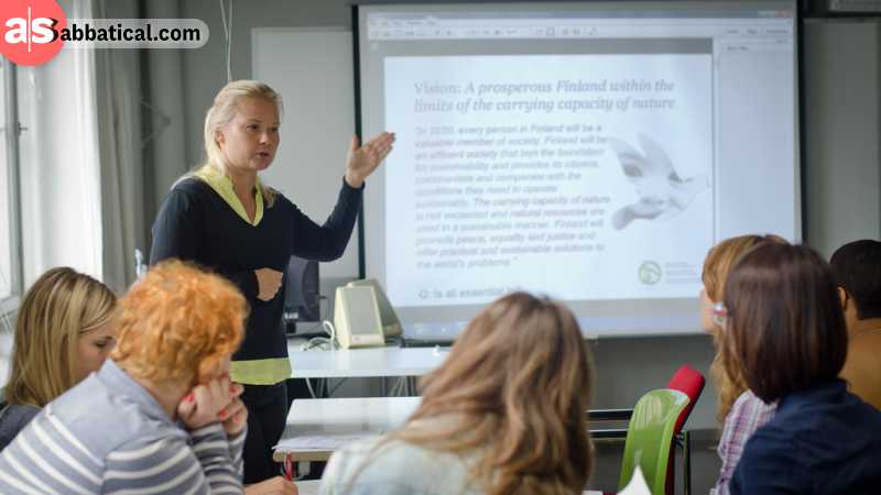 It is required for a Finnish teacher to go through six years of intensive training.