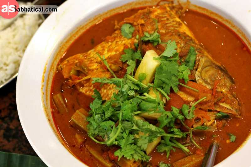 Fish head curry is said to originate from South India.
