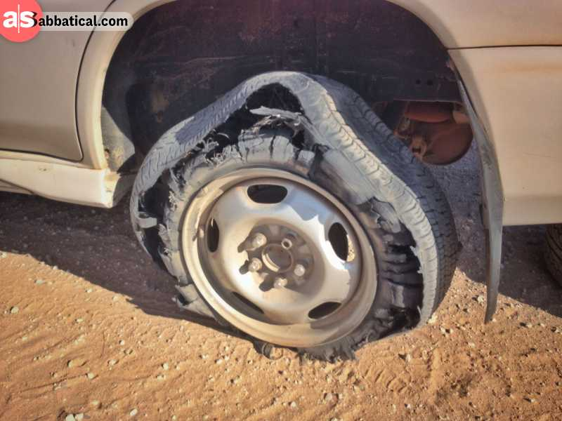 Bush mechanics can really fix the problem on the road