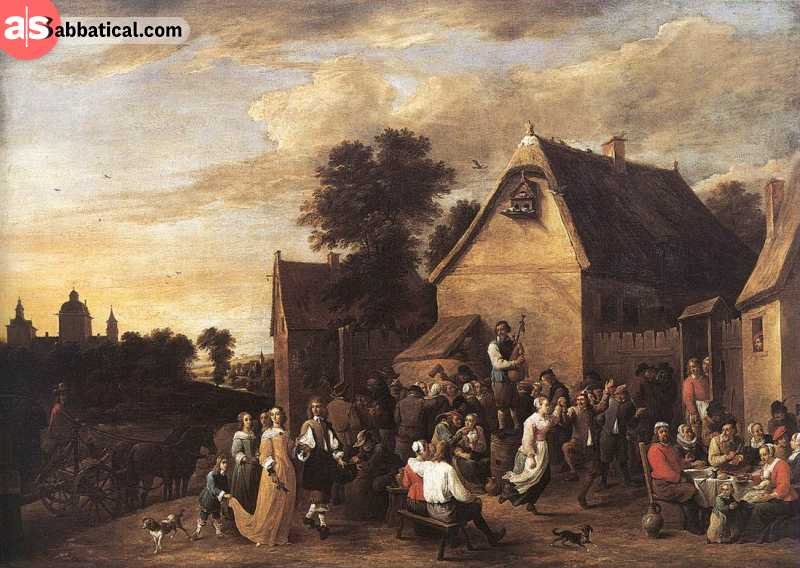 Art has been a prominent part of Belgian culture through the history and it has given birth to some of the most beautiful pieces like this one, from Flemish artists.