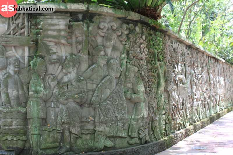 Fort Canning is the site where many key events in Singaporean history took place.