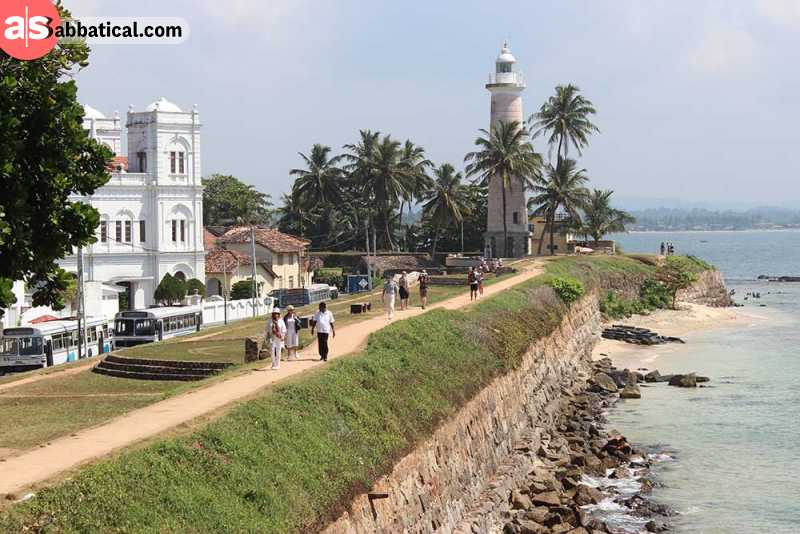 The Galle Fort.