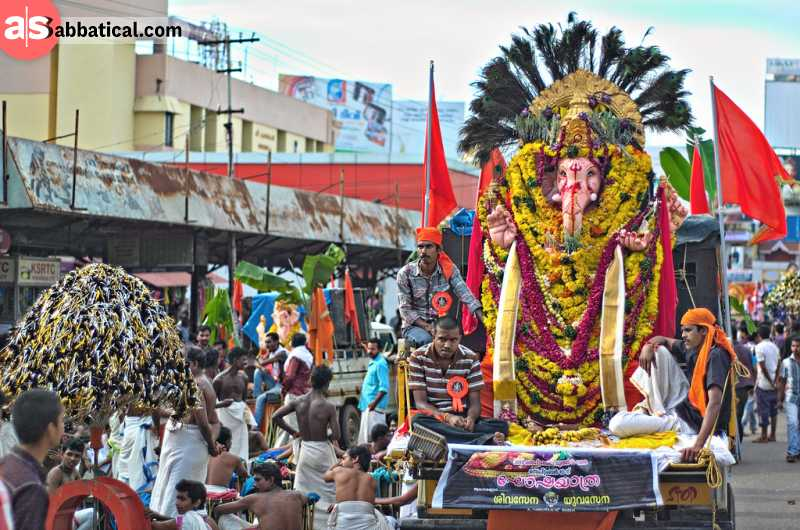 The story of the Ganesh Chaturthi Festival goes back to the years of the Maratha Empire.