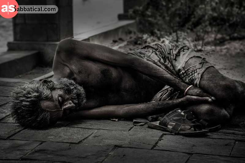 Global poverty is a serious problem