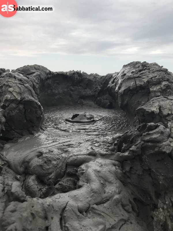 Gobustan National Park is famous for its mud volcanoes.