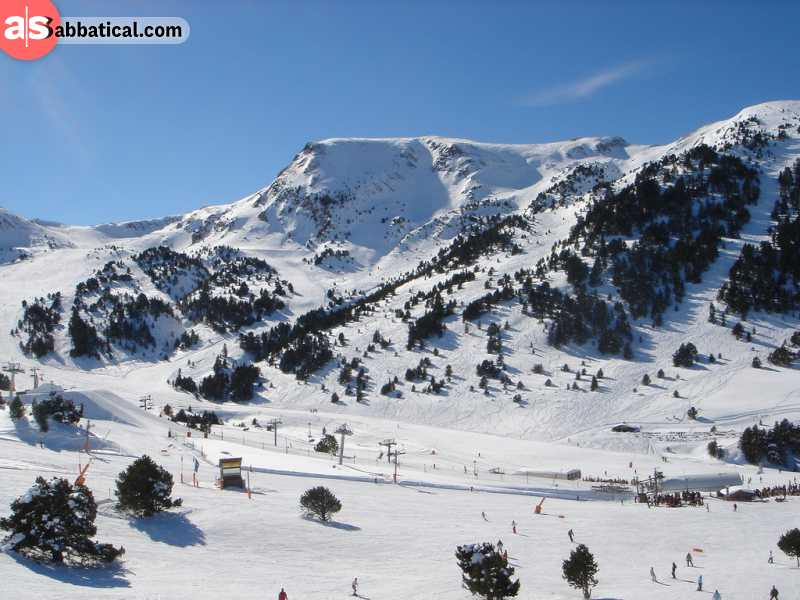 Grandvalira Ski Resort is the largest one in Andorra, and you should definitely check it out if you're into skiing.