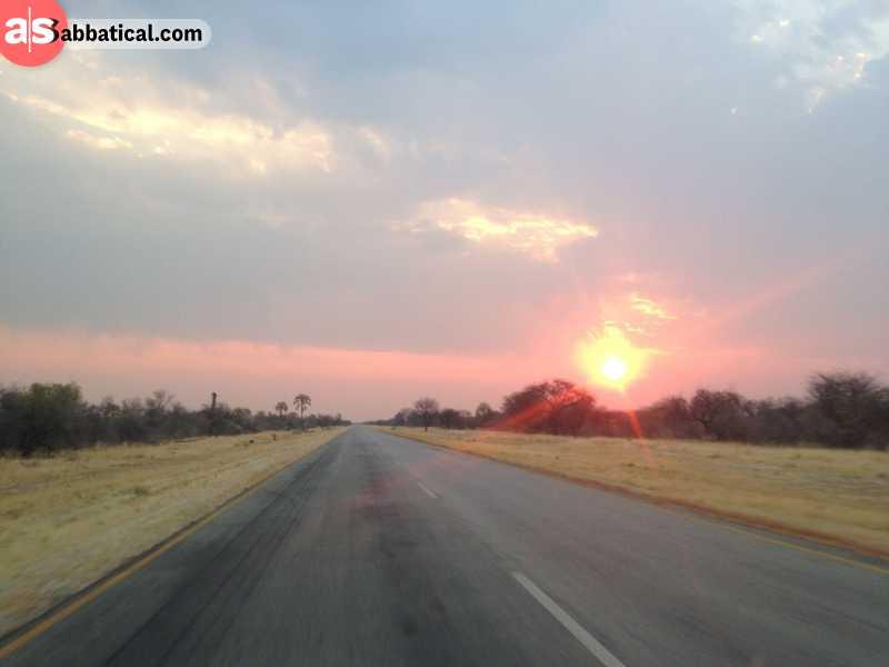 Amazing places in Botswana