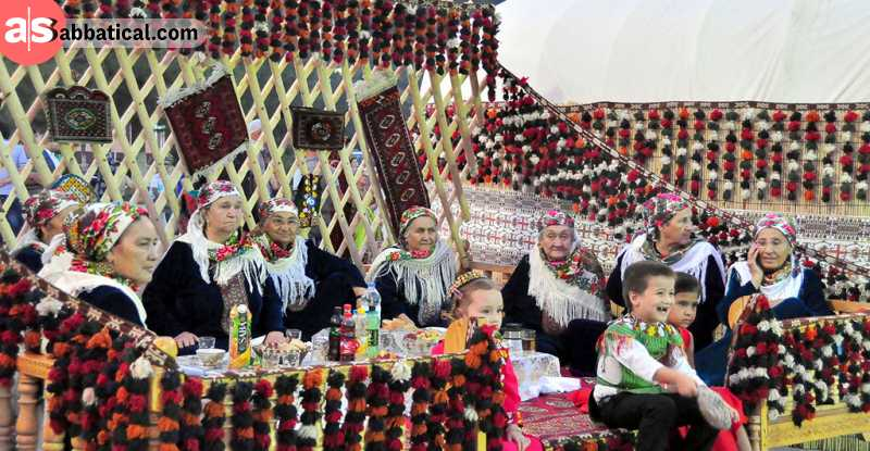 Gurban Bayram, the Festival of Sacrifice.