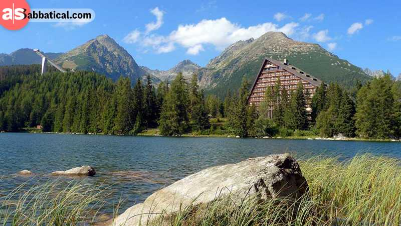 High Tatras Mountains are the highest mountains in Slovakia, and are full of lakes and other natural beuty.
