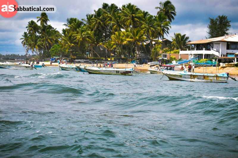 Hikkaduwa has some amazing beaches and snorkeling opportunities.