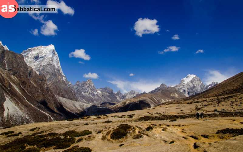 Nature on Himalaya is very diverse, and you can expect many different landscapes while climbing to the top.