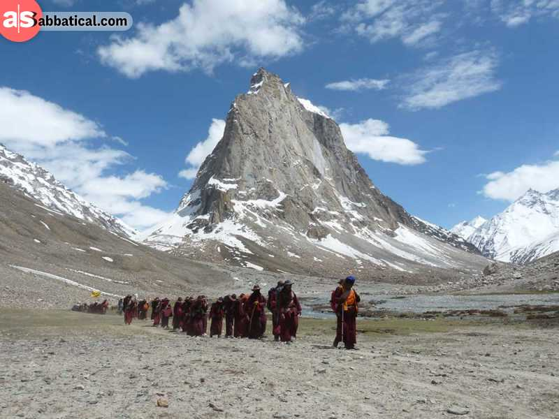 There are many Himalayan tours that can get you up to the top - it's up to you to choose the way.