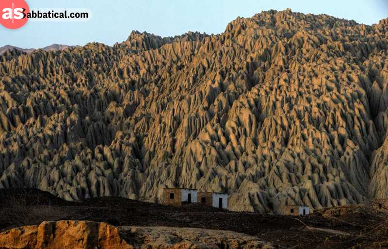 Hingol National Park is full of amazing sights like this.