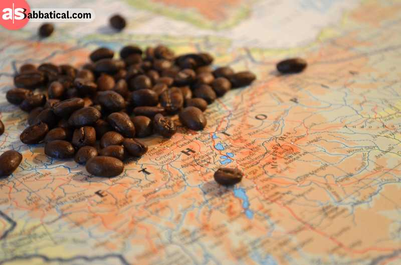 Most historians agree that the timeline of the coffee history begins in Ethiopia.