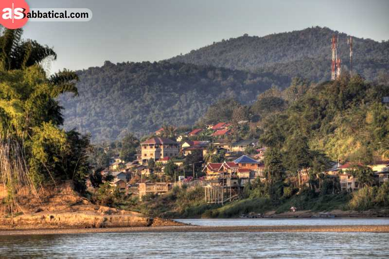 Huay Xai is known for its scenic Mekong River cruises.