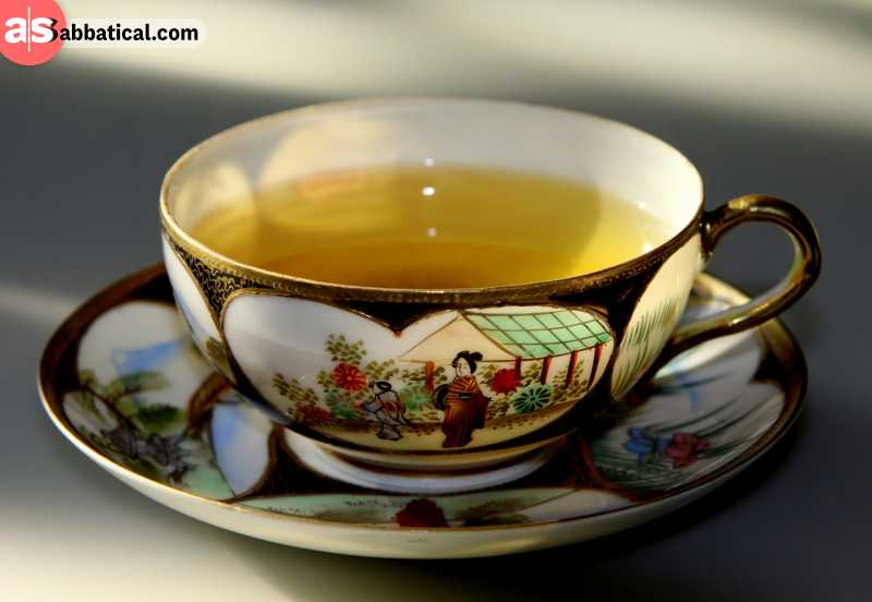 Tea has also been a major influence on human history.