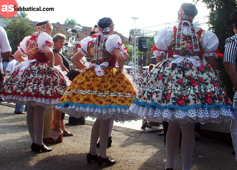 The traditional folk dance is just one of the many things that make Hungary a more authentic culture.