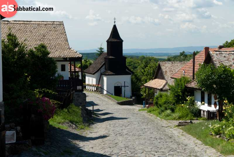 Hungary is proud of their villages and their national heritage.