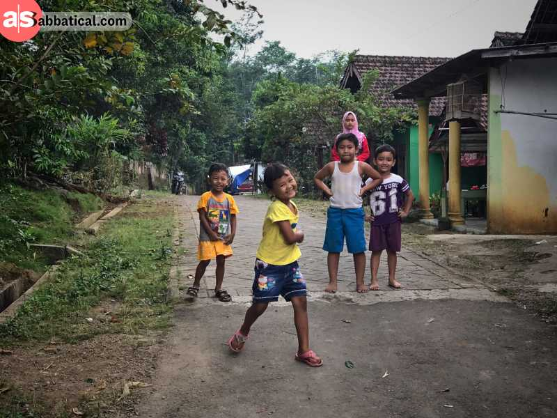 Indonesians are generally young people; only 8% of total population is 60 years and older.