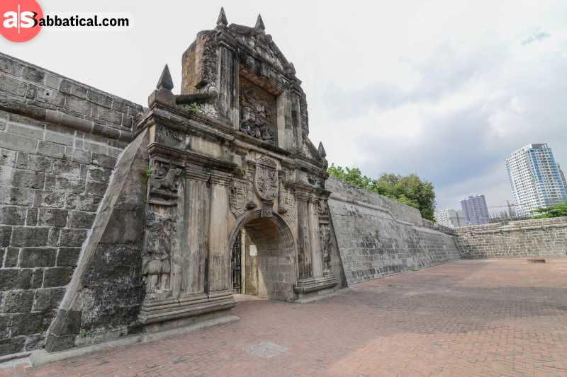 Inside Fort Santiago, you get a pretty decent look on the impact of the Spanish conquistadors in Manila.