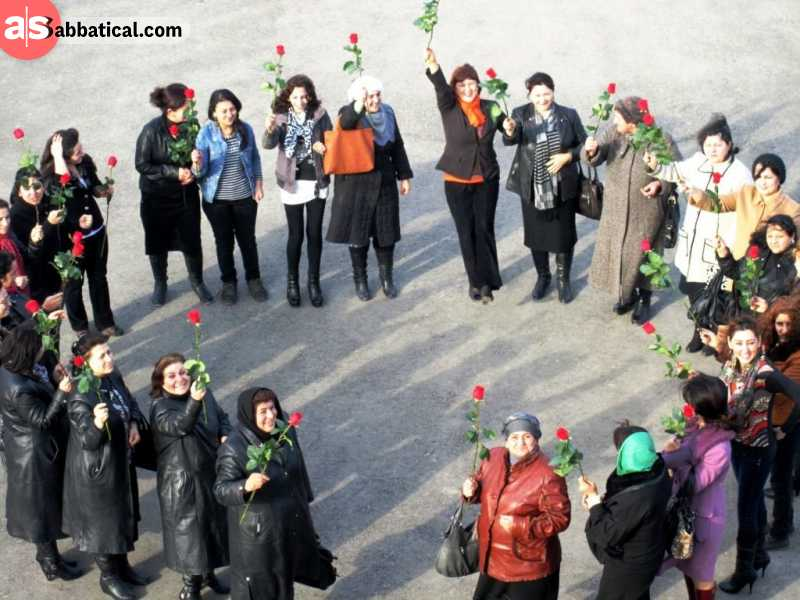 International Women Day in Azerbaijan.