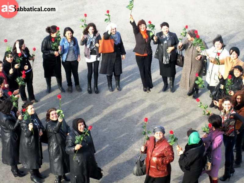 International Women Day in Azerbaijan.