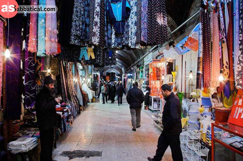 Where is Iran, exploring a bazaar may be one of the best experiences.