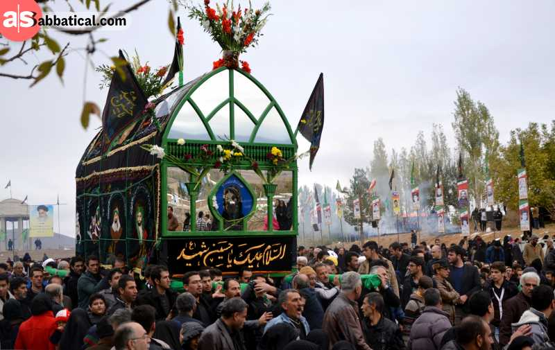 Try to experience one of the colorful festivals while visiting Iran!