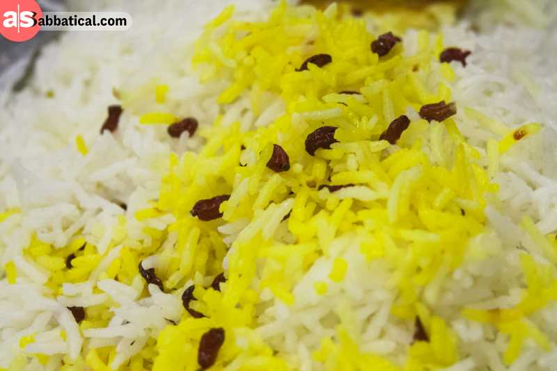 Rice is an important staple food of Iran.