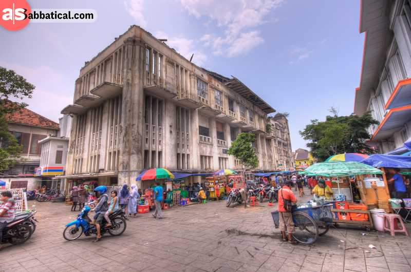 Jakarta Old Town is full of Dutch architectural influences.