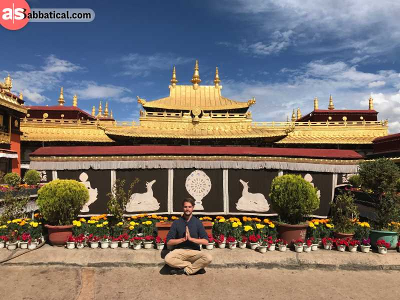 Jokang Temple is the most sacred place in Tibet.