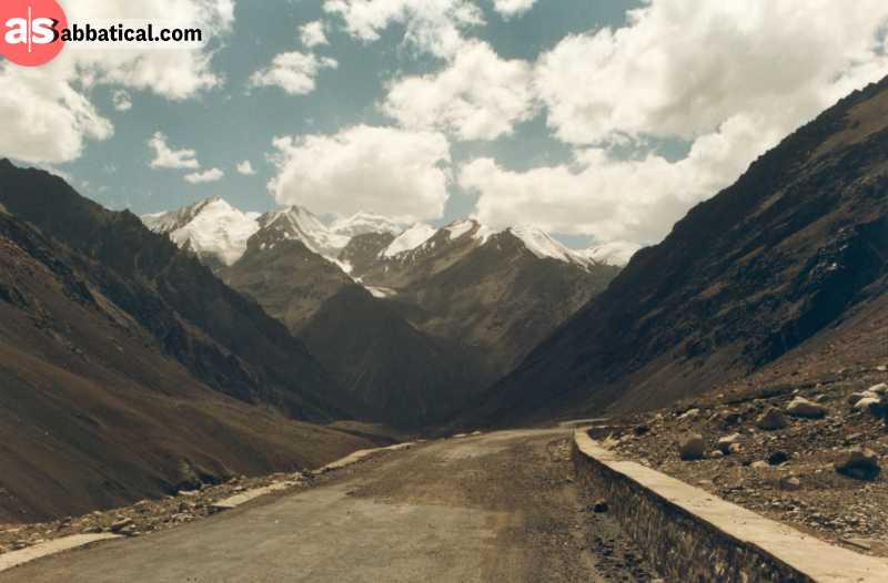 The infamous Karakoram Highway.