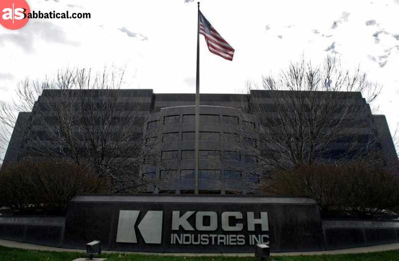 Koch Industries Headquarters in Wichita, Kansas.
