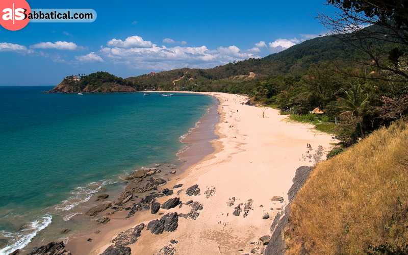 Koh Lanta has many a beach for you to explore, and you can also rent huts near the beach.