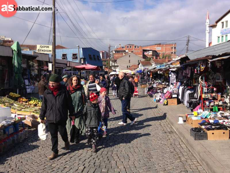 Kosovar people are suprisingly very hospitable and warm, despite their tumultuous history.