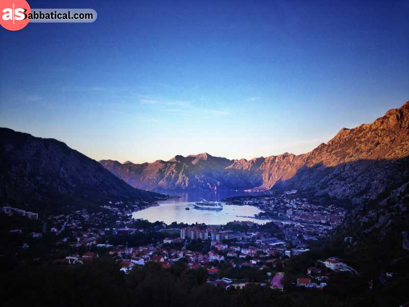 Kotor offers a perfect vista for any nature lover.