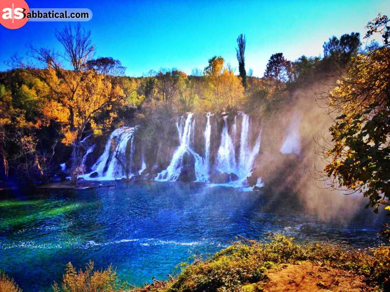 Kravice Waterfalls are just a showcase for an immensely beautiful and diverse nature of Bosnia and Herzegovina.