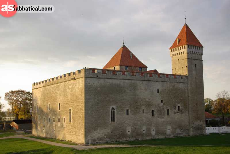 Kuressaare Castle is the best-preserved stone castle in all of Baltic.