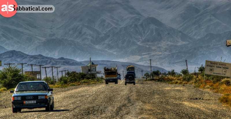 The roads in Kyrgyzstan aren't perfect by any means, but the scenery you'll see on the road is breathtaking.