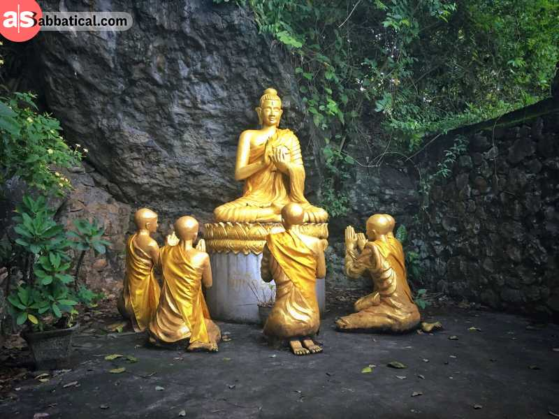 The Buddhist beliefs play an integral part of the culture of Laos.