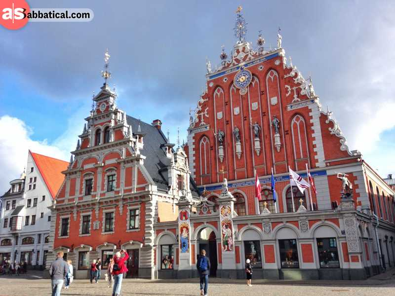 Explore beautiful Latvia