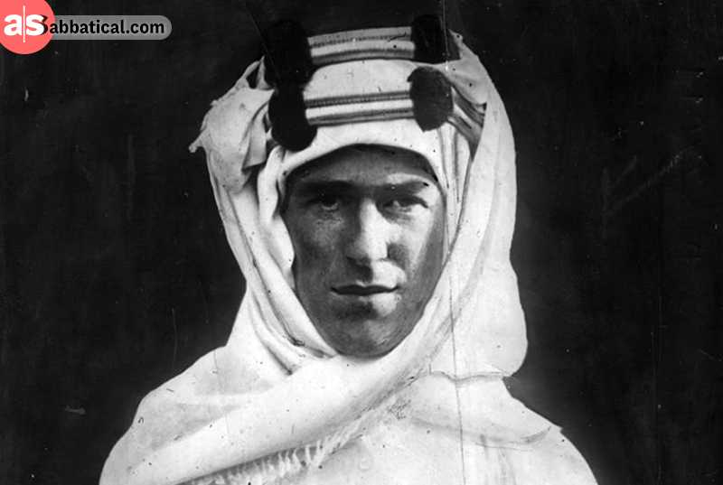 T.E. Lawrence himself.