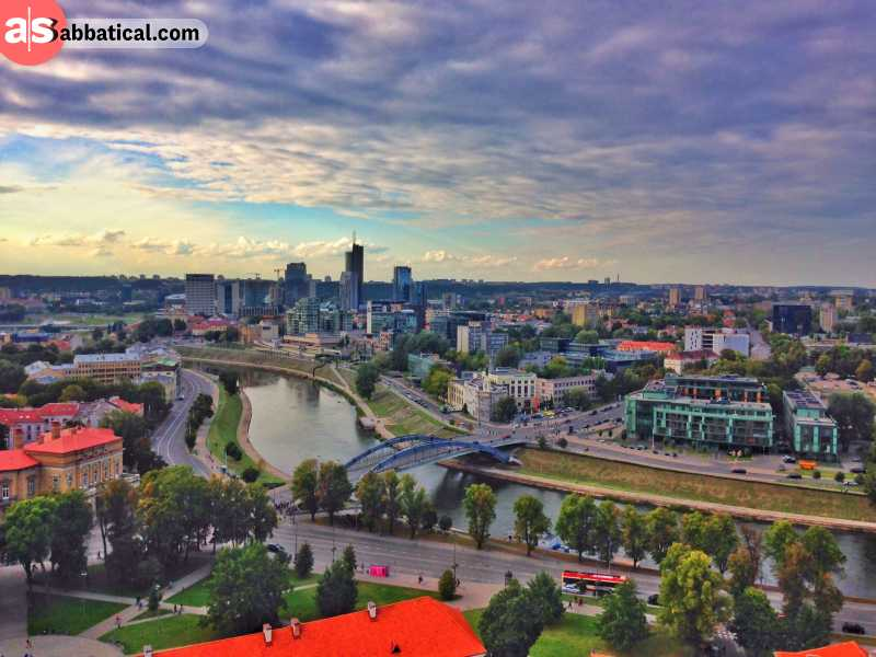 Be sure to explore the capital city of Vilnius