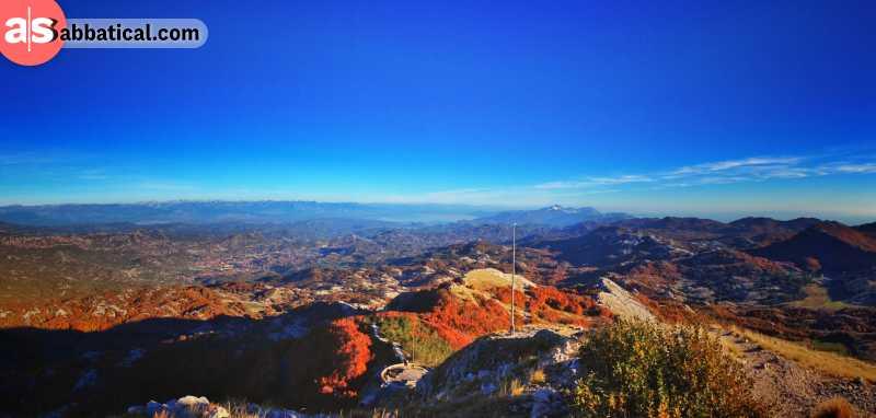 Lovcen peak