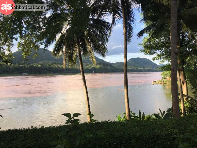 Luang Prabang is a beautiful laid-back riverside town.
